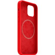 FIXED MagFlow with MagSafe Support for Apple iPhone 12 mini Red - Mobile Case
