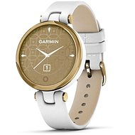 Garmin Lily Classic Light Gold/White Leather Band - Smartwatch