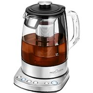 ProfiCook PC-WKS 1167G Smart Wifi Glass Tea Kettle - Rapid Boil Kettle