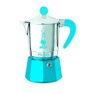 Bialetti Happy for 3 Cups, Blue - Moka Pot