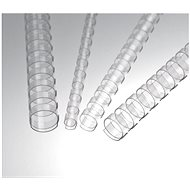 EUROSUPPLIES A4 19mm Clear - - Package of 50 pcs - Binding Spine