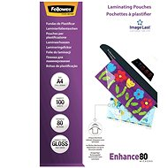 Laminating foil Fellowes A4 80 mic. ImageLast - Laminating Foil