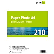 PRINT IT Paper Photo Glossy A4 20 sheets - Photo Paper