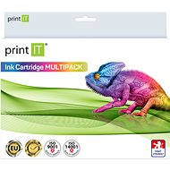 PRINT IT set PG 512 BK + CL 513 Color - Alternative Ink