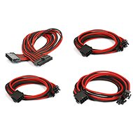 Extension Cable Phanteks Extension Cable Set - Black/Red - Napájecí kabel