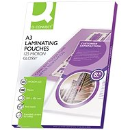 Laminating Film Q-CONNECT A3/250 Glossy - package of 100 pcs - Laminovací fólie