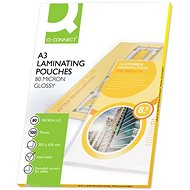 Laminating Film Q-CONNECT A3/160 Glossy - package of 100 pcs - Laminovací fólie