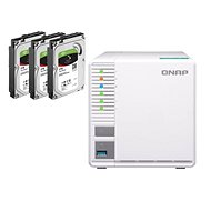 QNAP TS-328 + 3x2TB HDD RAID5 - Data Storage Device