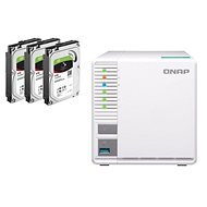QNAP TS-328 + 3 x 4TB HDD RAID5 - Data Storage Device