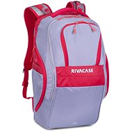 """RIVA CASE 5265 17.3"""" Grey/Red - Laptop Backpack"""