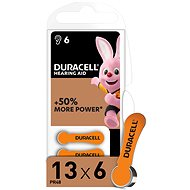 Duracell Hearing Aid - DA13 Duralock - Disposable batteries