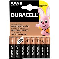Duracell Basic AAA 8 pcs - Disposable batteries