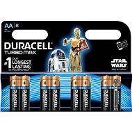 Duracell Turbo Max AA 8pcs (StarWars Edition) - Alkaline battery