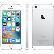 iPhone SE 128GB Silver - Mobile Phone