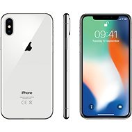 iPhone X 256GB Silver - Mobile Phone
