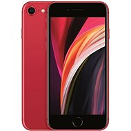 iPhone SE 64GB Red 2020 - Mobile Phone