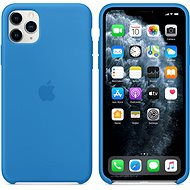 Apple iPhone 11 Pro Max Silicone Case, Surf Blue - Mobile Case