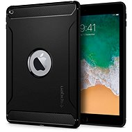 "Spigen Rugged Armor Black iPad 9.7"" 2017/2018 - Tablet Case"
