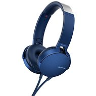 Sony MDR-XB550AP Blue - Headphones with Mic
