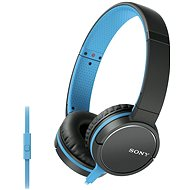 Sony MDR-ZX660APL, Blue - Headphones