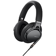 Sony Hi-Res MDR-1AM2 Black - Headphones with Mic