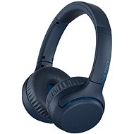 Sony WH-XB700 Blue - Headphones with Mic