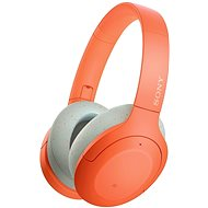 Sony Hi-Res WH-H910N, orange-grey - Wireless Headphones