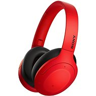 Sony Hi-Res WH-H910N, red-black - Wireless Headphones
