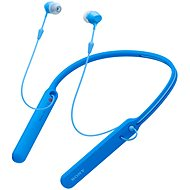 Sony WI-C400 blue - Headphones with Mic