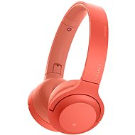 Sony Hi-Res WH-H800 Red - Headphones with Mic