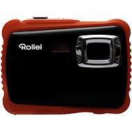Rollei Sportsline 65 Black-Orange + Free Case - Digital Camera