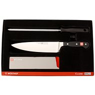 WÜSTHOF CLASSIC Starter Kit + Sharpening Steel - Knife Set