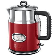 Russell Hobbs Retro Red Kettle 21670-70 - Rapid Boil Kettle