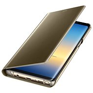 Samsung EF-ZN950C Clear View Cover Gold - Mobile Phone Case
