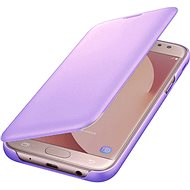 Samsung Galaxy J6 Wallet Cover Lavender - Mobile Phone Case