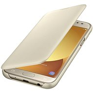 Samsung Galaxy J6 Wallet Cover Gold