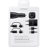 Samsung Charger Pack Black - Set