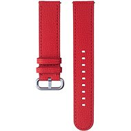 Samsung Braloba Essence Leather Strap Watch Active 2 20mm Red - Watch band
