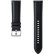 Samsung Leather Strap (20mm) Black - Watch band