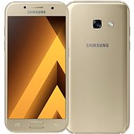 Samsung Galaxy A3 (2017) Gold - Mobile Phone