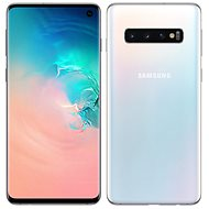 Samsung Galaxy S10 Dual SIM 128GB white - Mobile Phone