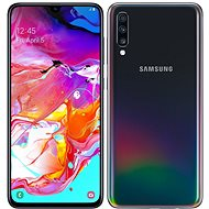 Samsung Galaxy A70 Dual SIM black - Mobile Phone