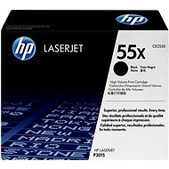HP CE255X black - Toner