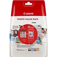 Canon CLI-581 XL Multipack + Photo Paper PP-201 - Cartridge
