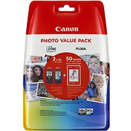 Canon PG-540XL + CL-541XL + Photo Paper GP-501 - Cartridge