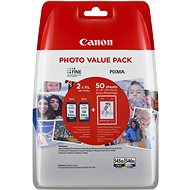 Canon PG-545XL + CL-546XL + Photo Paper GP-501 - Cartridge