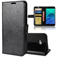 Leather Folio Case for Asus Zenfone 4 Selfie Pro ZD552KL - Mobile Phone Case