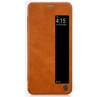 Nillkin Qin S-View for Huawei P20 Brown - Mobile Phone Case