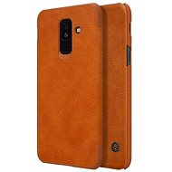 Nillkin Qin Book for Samsung A605 Galaxy A6 Plus 2018 Brown - Mobile Phone Case