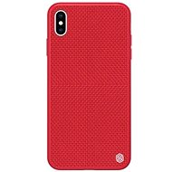 Nillkin Textured Hard Case for Apple iPhone X/XS Red - Mobile Case
